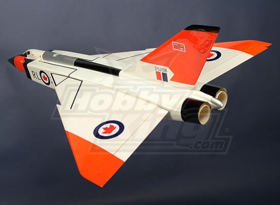 AVRO CF105アロー、グラスファイバー70ミリメートルEDF(ARF)