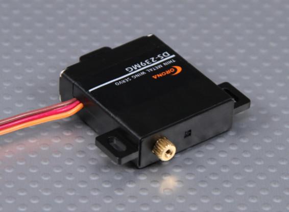 コロナDS-239MGデジタルスリムウィングサーボ(メタルギア)4.6キロ/ 0.15sec / 22グラム