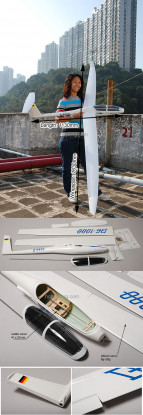DG-1000ファイバーグラス電動グライダー2.63M(102in)ARF