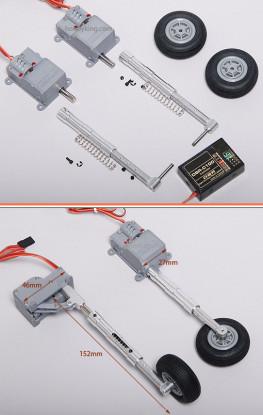 デジタルServoless調整ランディングギアセット