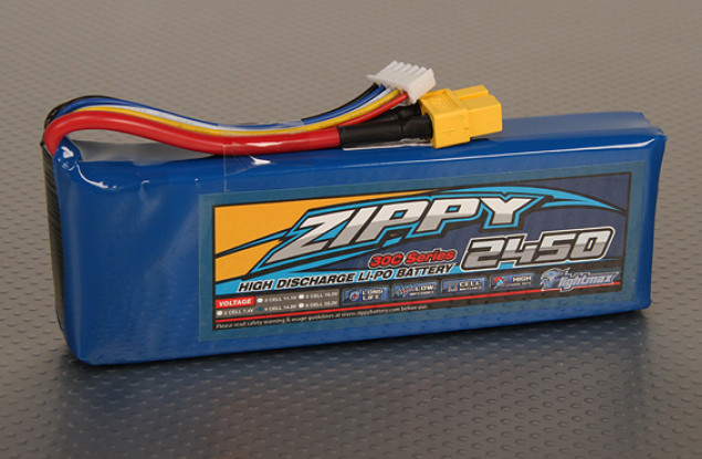 ジッピーFlightmax 2450mAh 4S1P 30C