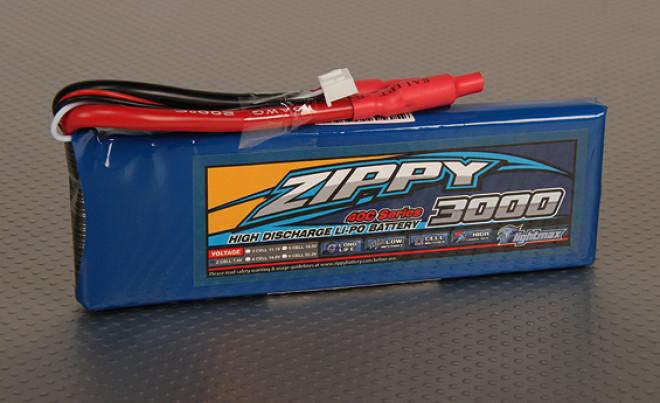 ジッピーFlightmax 3000mAhの2S1P 40C