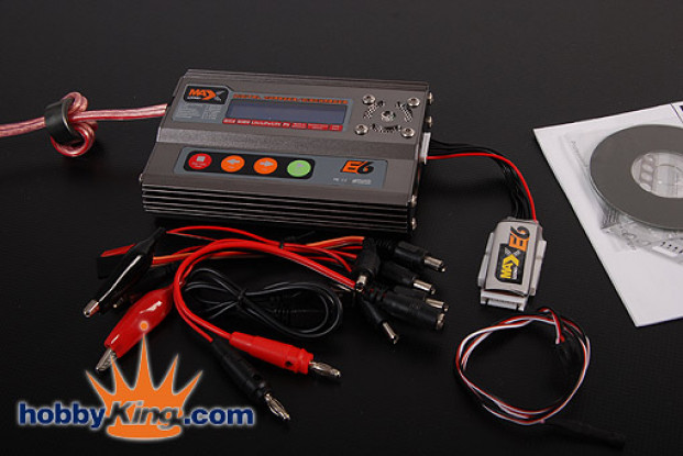 MAX E6デジタルリポ充電器