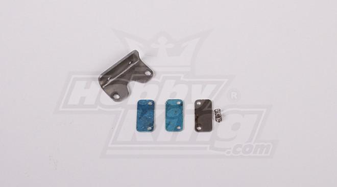 RCモーターバイクの交換FRブレーキパッドセット