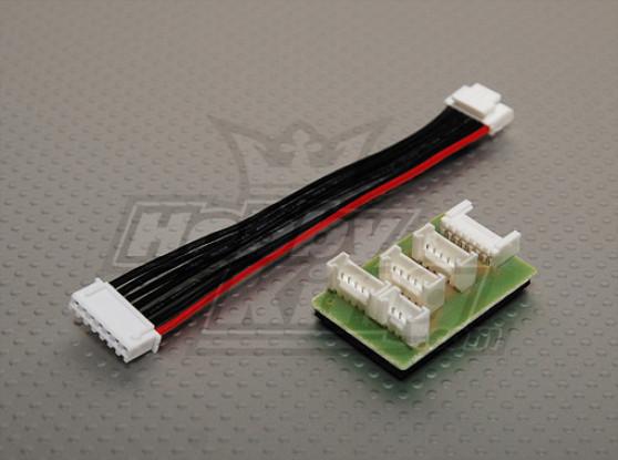 TPアダプタCoversionボードW /クアトロ4x6S充電プラグ