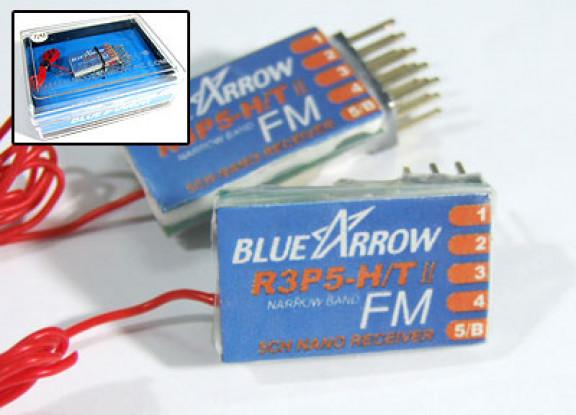 アロー5CHの3.8グラムの40MHzのFMマイクロレシーバ -  V3