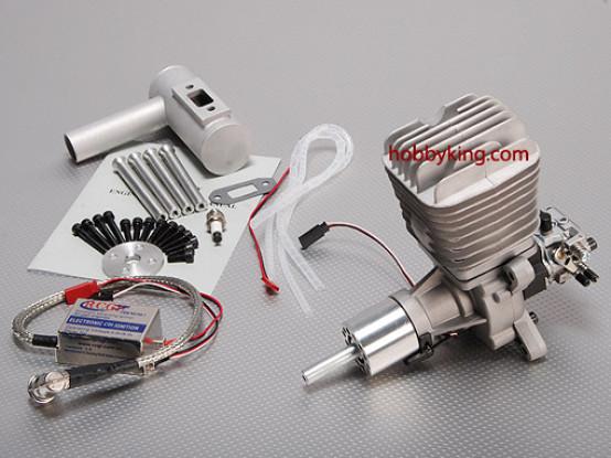 RCG 50ccのガスエンジン5.2HP / 7500RPM