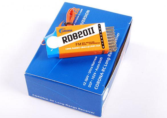 RD820デュアルコンバージョン。 8CHレシーバー35MHzの