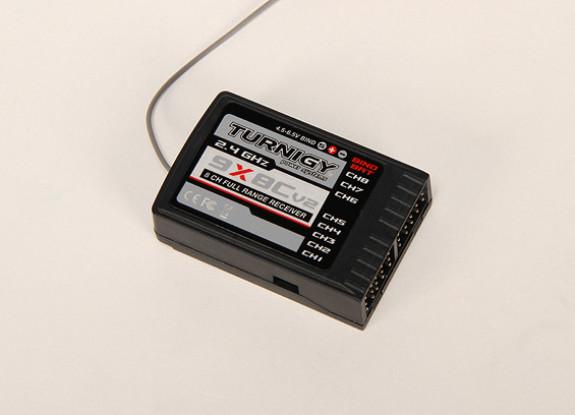 Turnigy 9X 2.4GHz帯は8Chレシーバー(V2)