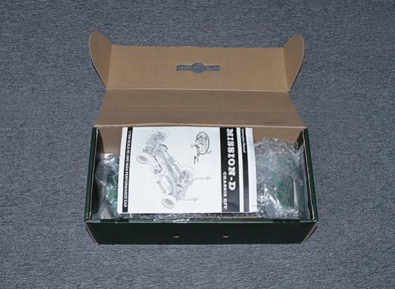 SCRATCH / DENT 1/10 Hobbykingミッション-D 4WD GTRドリフトカー(ARR)