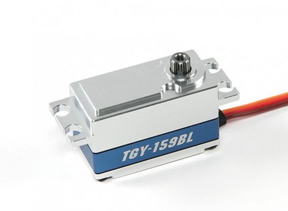 SCRATCH / DENT  -  Turnigy TGY-159BLデジタルメタルケース入りハイトルクロープロファイルブラシレスカーサーボ55グラム