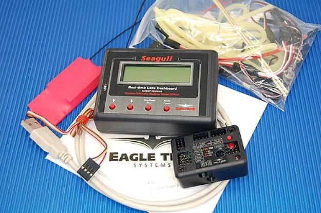 シーガルPROワイヤレスダッシュボードフライトシステム、900MHzの1W