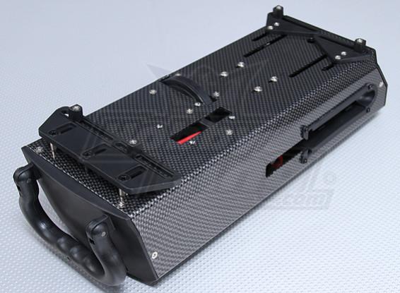 カーボンファイバースタイルスターターボックス12V(1/10&1/8ナイトロカー)