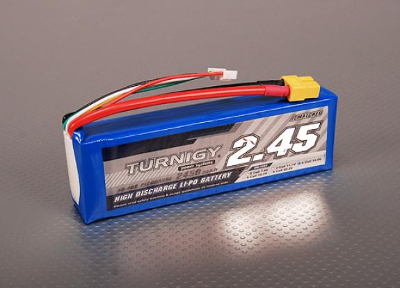 Turnigy 2450mAh 4S 30Cリポパック