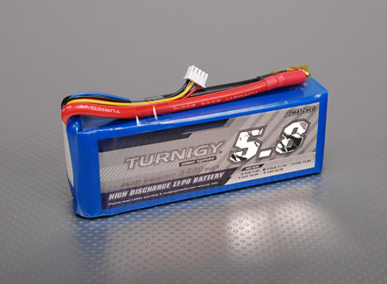 Turnigy 5800mAh 3S 25Cリポパック