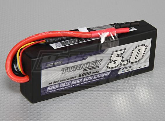 Turnigy 5000mAに2S2P 40Cハードケースパック(ROARが承認)
