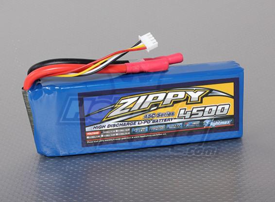 ジッピーFlightmax 4500mAh 3S1P 45C
