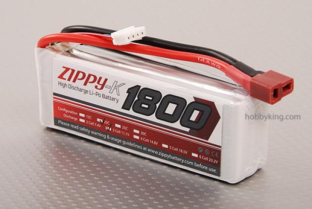 ジッピー-K 1800 3S1P 20Cリポパック