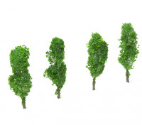 HobbyKing™ 80mm Scenic Wire Model Trees (4 pcs)