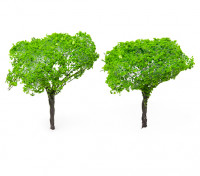 HobbyKing™ 90mm Light Green Scenic Wire Model Trees (2 pcs)