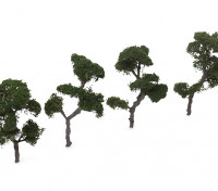 HobbyKing™ 100mm Scenic Wire Model Trees (4 pcs)