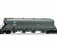 Roco HO Double Bogie Coal Dust Carrier Wagon DB AG (KVG)
