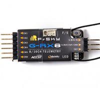 FRSKY G-RX8 8-16 Channel ACCST Vario Receiver (International Version)