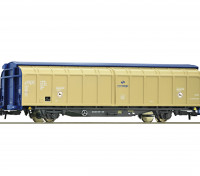 Roco/Fleischmann HO Scale 4 Wheel Sliding Wall Wagon PKP