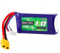 Turnigy Nano-Tech 1000mAh 3S 70C Lipo Pack w/XT60 (HR Technology)