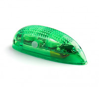 EasyLight Self Contained LED Flashing Light w/Battery (Green) 1