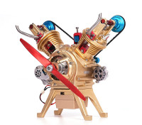 V2 Cam Engine Model