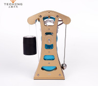 Galileo Pendulum Clock Engine Model