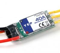 Hobbyking YEP 40A(2〜6S)SBECブラシレススピードコントローラー
