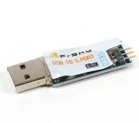 S.PortアダプタにFrSky USB