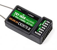 SBusワットTurnigy iA6B V2レシーバを6ch 2.4G AFHDS 2Aテレメトリーレシーバー