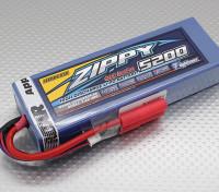 ジッピーFlightmax 5200mAh 2S2P 30Cのハードケースパック(ROARはAPPROVED)(DE倉庫)