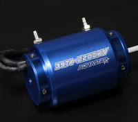 Turnigy AquaStar 3974-2200KV水はブラシレスモーターを冷却しました