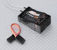 FrSky TFR8 SB 8chの2.4GHzのS.BUS受信機FASST互換性