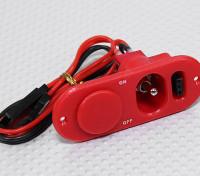充電ポート・燃料ドットレッドとヘビーデューティRXスイッチ