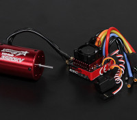 Turnigy TrackStar防水1/10ブラシレスパワーシステム3520KV / 80A
