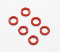 デフOリングシール(6PCS /袋) -  1/10 Quanumバンダル4WDレーシングバギー