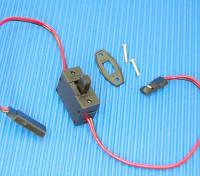 受信機のスイッチ