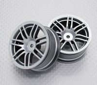 1:10スケール高品質ツーリング/ドリフトホイールRCカー12ミリメートル六角(2PC)CR-RS4S