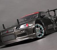 1/10HobbyKing®™ミッション-D 4WD GTRドリフトカー(ローラーKIT)