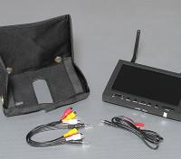 LEDバックライトSkyZoneと7インチ800×480 5.8GHz帯ダイバーシティ受信機&TFT液晶FPVモニター