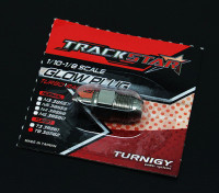 TrackStar 1月10日〜1月8日スケールターボグロープラグ8番(MEDIUM)