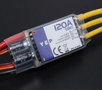 Hobbyking YEP 120A LV(2-6S)選択SBECとブラシレススピードコントローラー