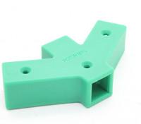 60度Yコネクタ2は、両面RotorBits(グリーン)
