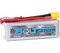 Turnigyボルト2400mAhの4S 15.2V 65〜130℃の高電圧Lipolyパック(LiHV)