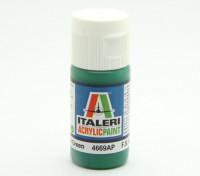 イタレリアクリルペイント - グロスグリーン